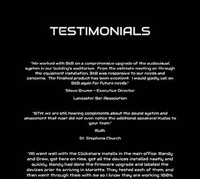 B&B-Testimonials